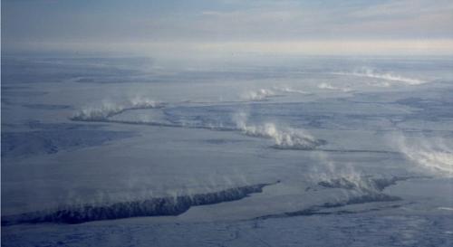 arctic lead